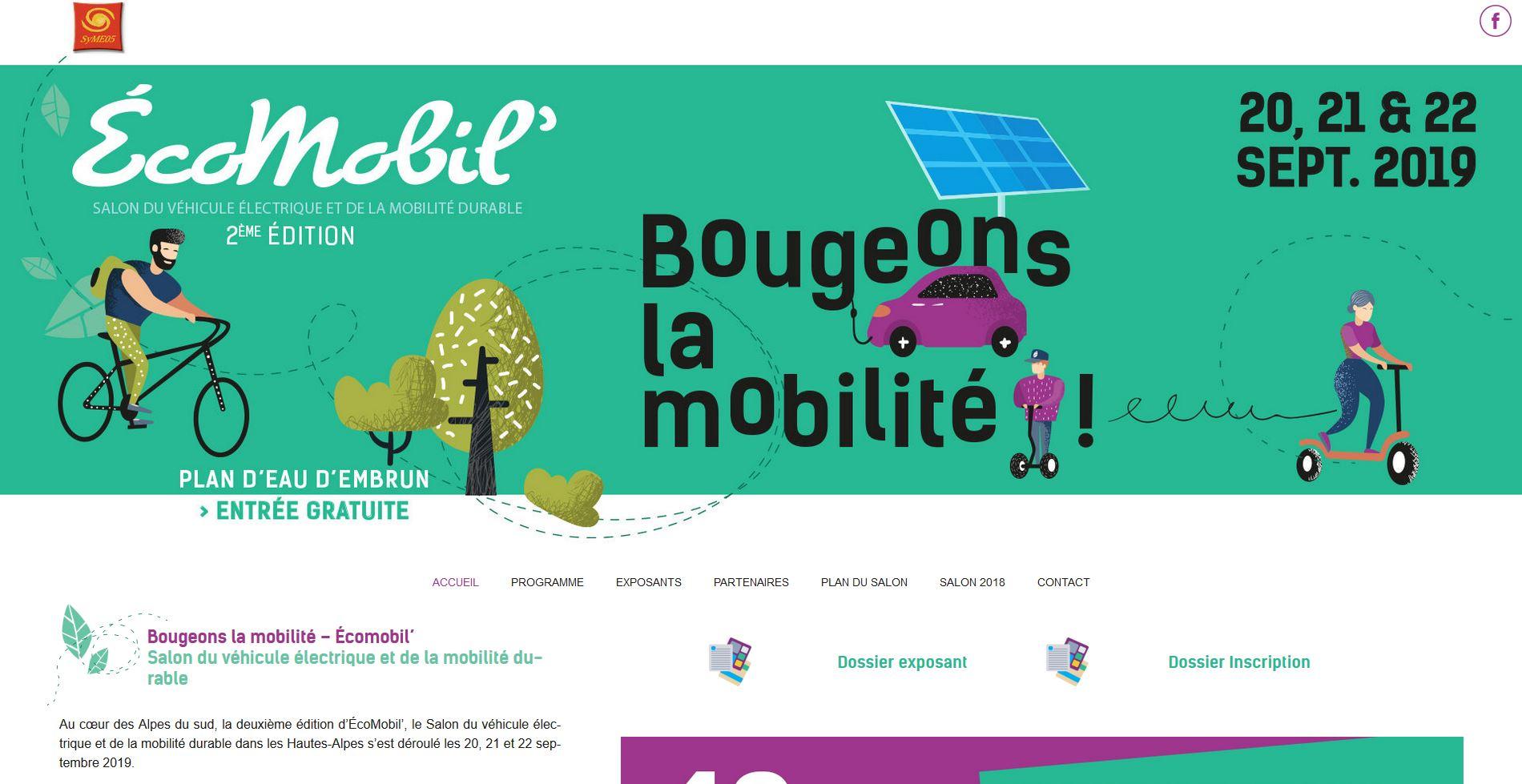 """<a href=""""http://salon-ecomobil.fr/"""" target=""""_blank"""" rel=""""noopener"""">Visitez le site web du salon</a>"""