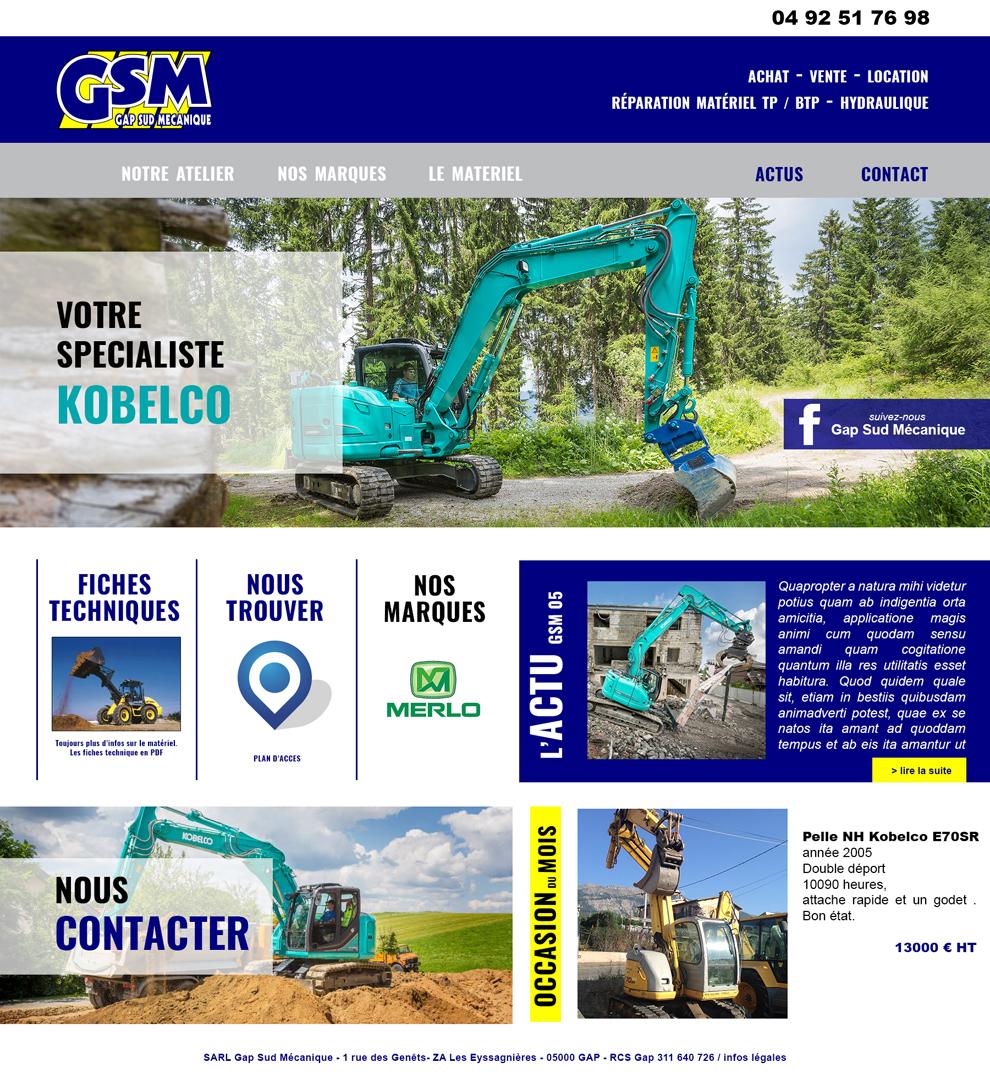 """<a href=""""http://gsm-05.fr/"""" target=""""_blank"""">Visitez le site web de Gap Sud Mécanique</a>"""